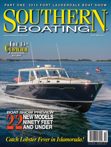 Southern Boating Magazine Featuring the MJM 50z Yacht